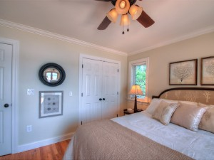 Another view of main level guest bedroom.