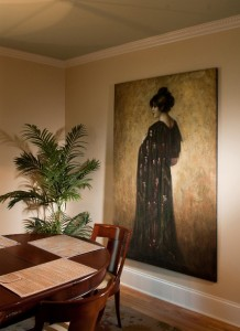 Additional view of formal dining room .