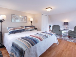 Beautiful Master Bedroom with king size bed ..