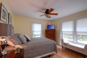 Third bedroom on second level with queen bed.
