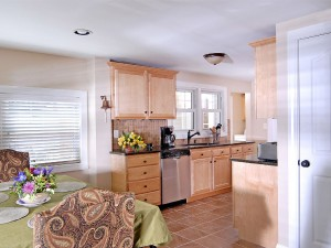 Another view of kitchen .