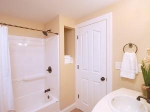 First floor Guest Bathroom .