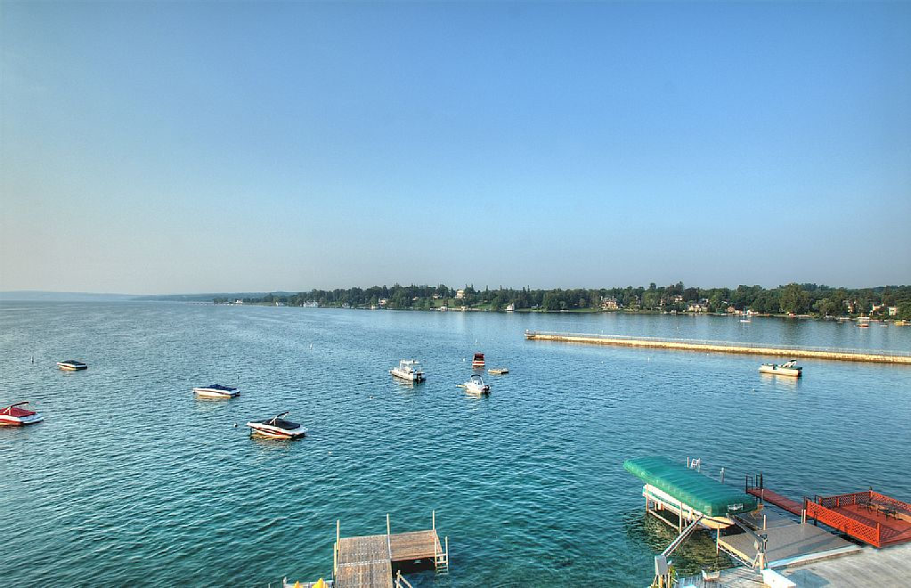 Another view of Skaneateles Lake - Skaneateles Lake, Skaneateles condo rental