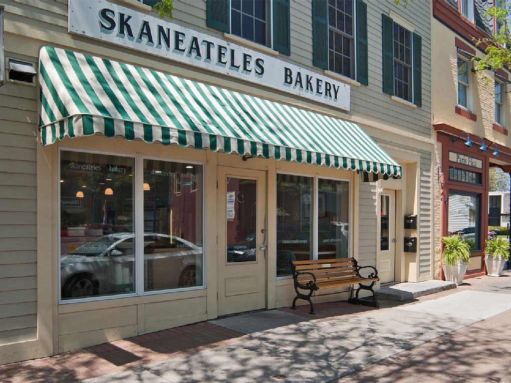 Enjoy homemade donuts at Skaneateles Bakery