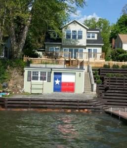 Enjoy the boathouse.