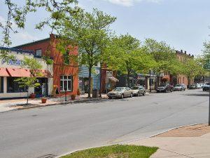 Visit the many shops and restuarants on Jordan Street in Skaneateles