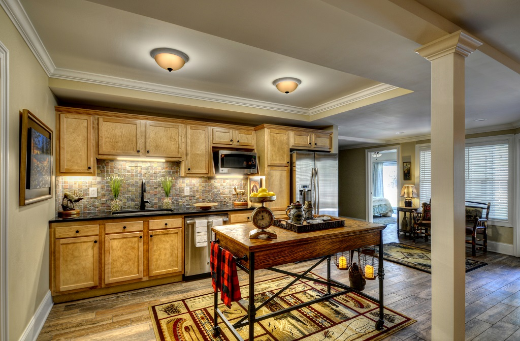 Additional pic of spacious lower level kitchen