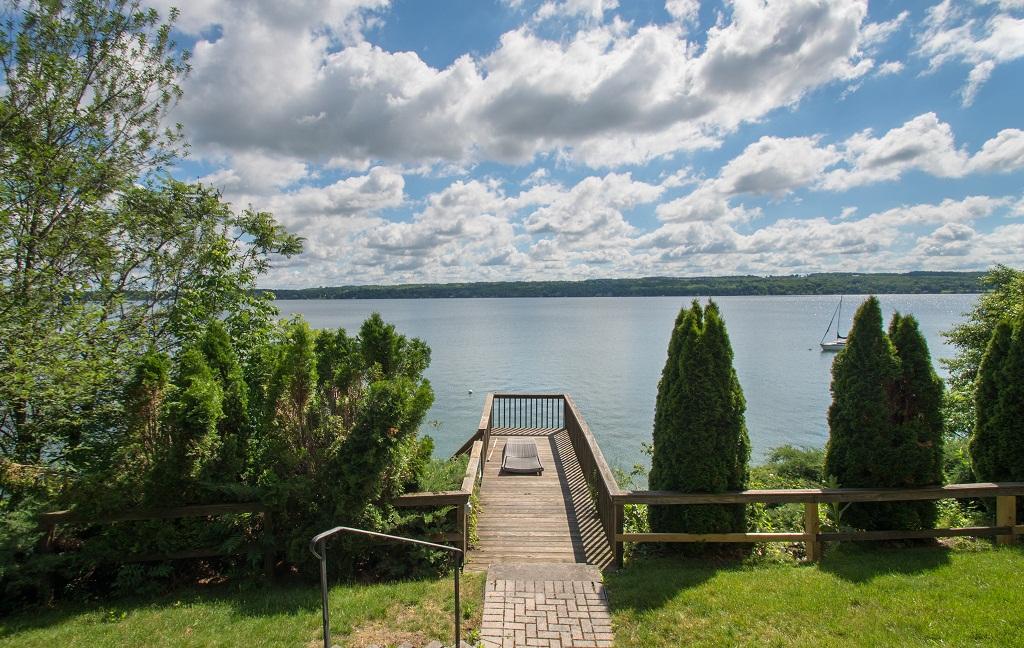 Beautiful views of Skaneateles Lake