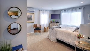 Gorgeous Main Level Bedroom with Queen Bed