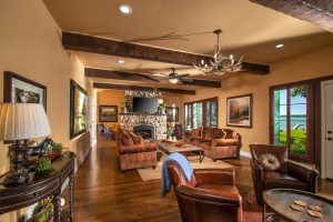 Watch a movie or entertain guests in this beautiful and spacious great room!